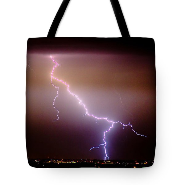 Subsequent Electrical Transfer Tote Bag by James BO  Insogna