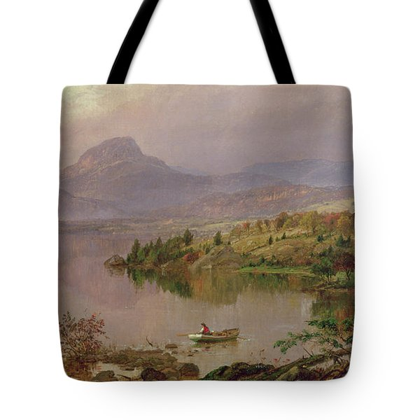 Sugarloaf From Wickham Lake Tote Bag by Jasper Francis Cropsey