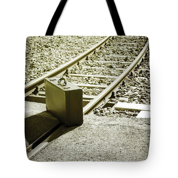 Suitcase Tote Bag by Joana Kruse