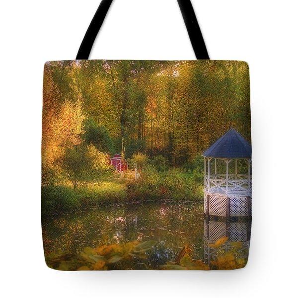 Summer's Whisper Tote Bag by Joann Vitali