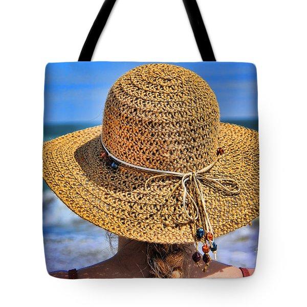 Summertime Tote Bag by Mariola Bitner