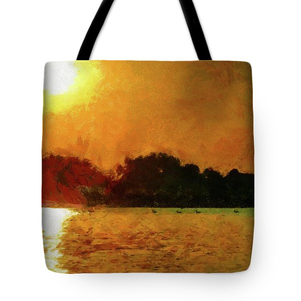 Sun Burned Tote Bag by Jeff Kolker