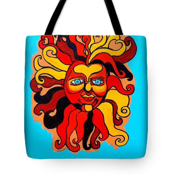 Sun God II Tote Bag by Genevieve Esson