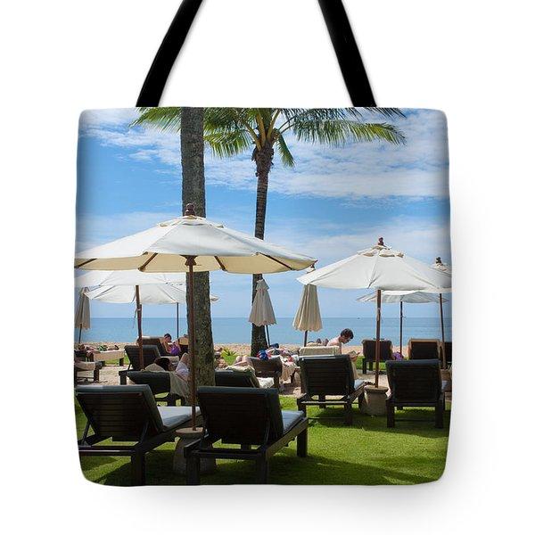 Sunbath Tote Bag by Atiketta Sangasaeng