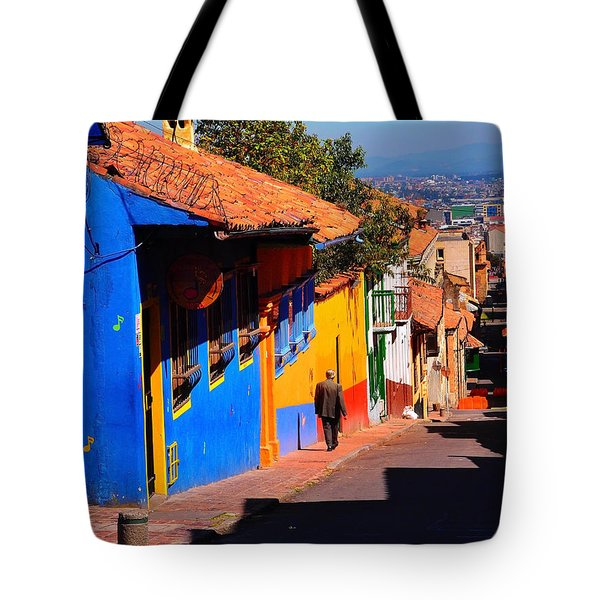 Sunday Safety Tote Bag by Skip Hunt