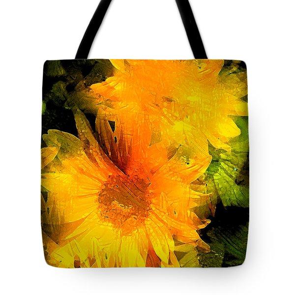 Sunflower 2 Tote Bag by Pamela Cooper
