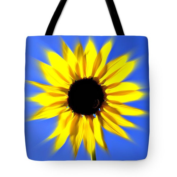 Sunflower Burst Tote Bag by Marty Koch