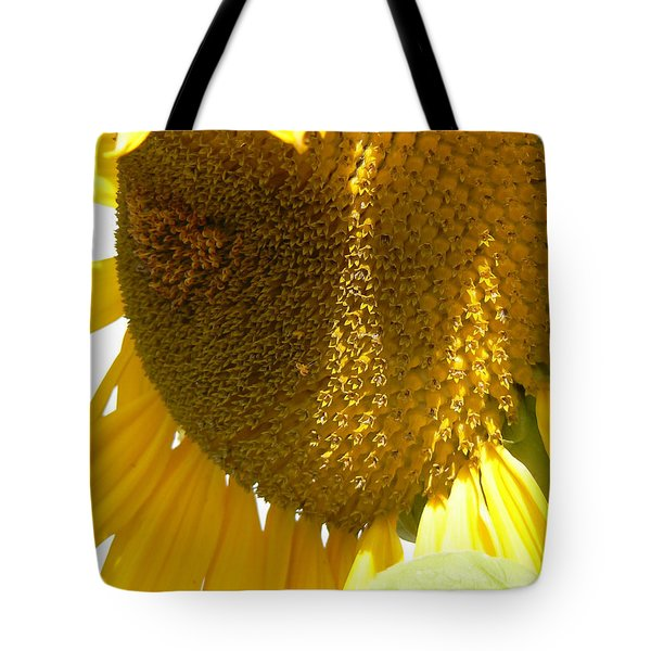Sunflower Love  Tote Bag by Pamela Patch