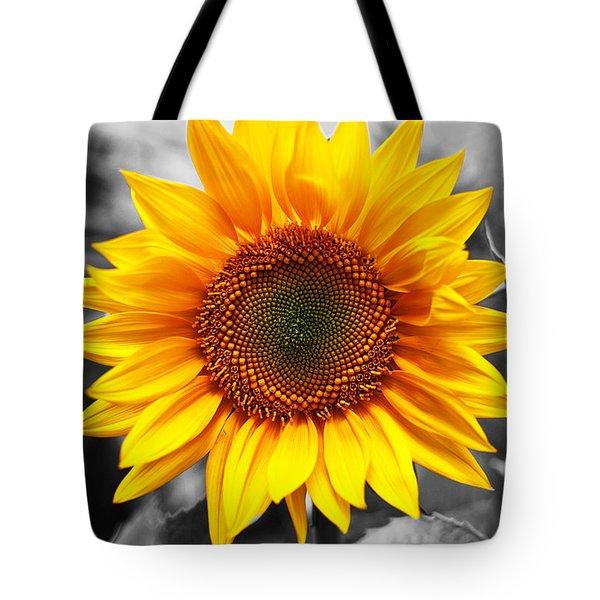 Sunflowers 3 Tote Bag by Sumit Mehndiratta