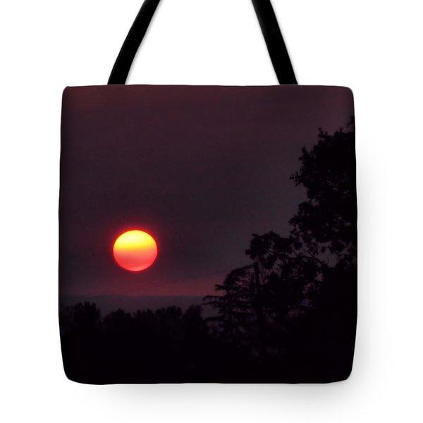 Sunrise  09 25 12 Tote Bag by Joyce Dickens