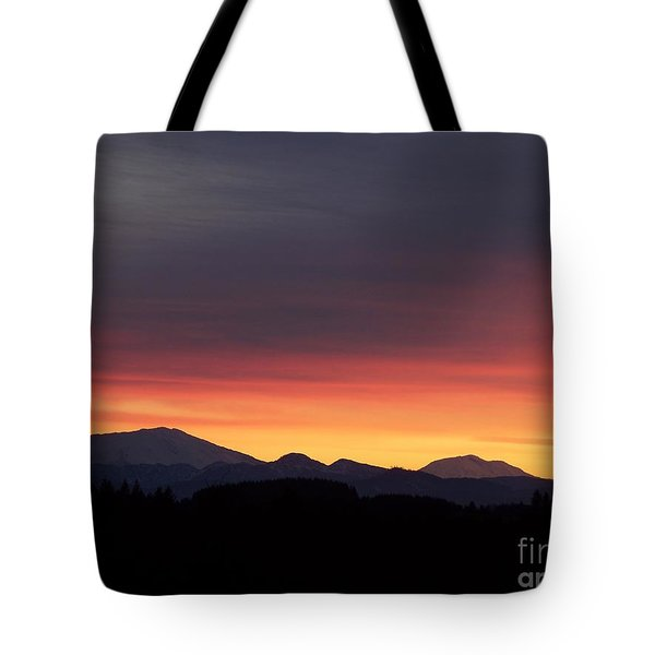 Sunrise 3 Tote Bag by Chalet Roome-Rigdon