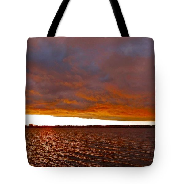 Sunrise At Ile-bizard ...  Tote Bag by Juergen Weiss