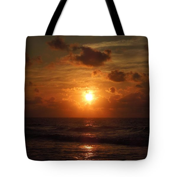 Sunrise At Myrtle Beach South Carolina Tote Bag by Chad and Stacey Hall