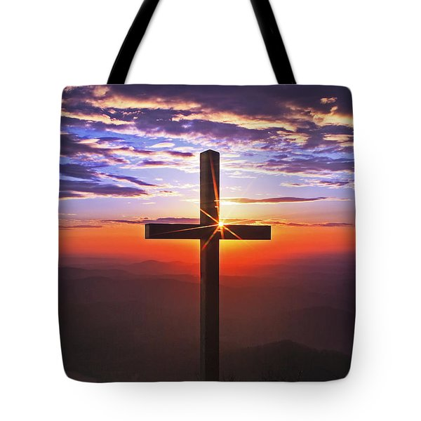 Sunrise At Pretty Place Tote Bag by Rob Travis