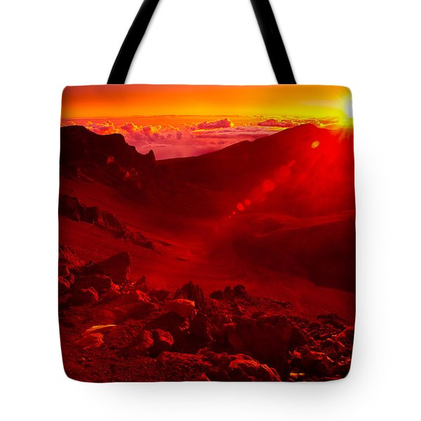 Sunrise Haleakala Tote Bag by Harry Spitz