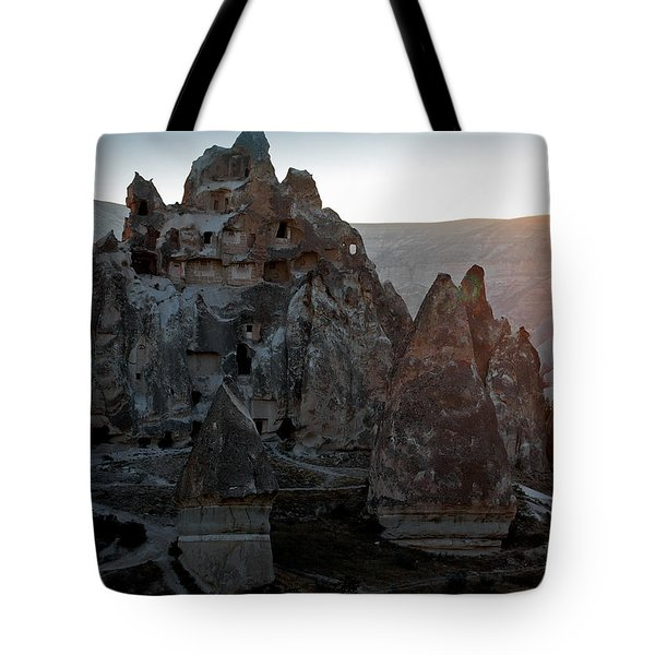Sunrise over Cappadocia Tote Bag by RicardMN Photography