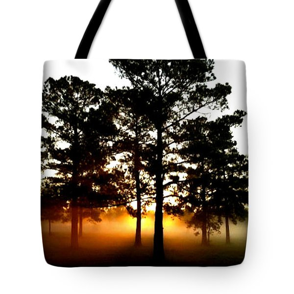 Sunrise3 Tote Bag by Amber Stubbs