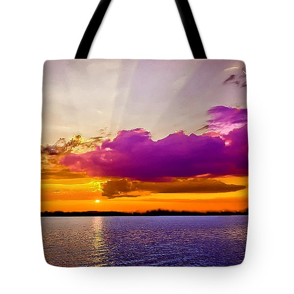 Sunset Tote Bag by Bob and Nadine Johnston