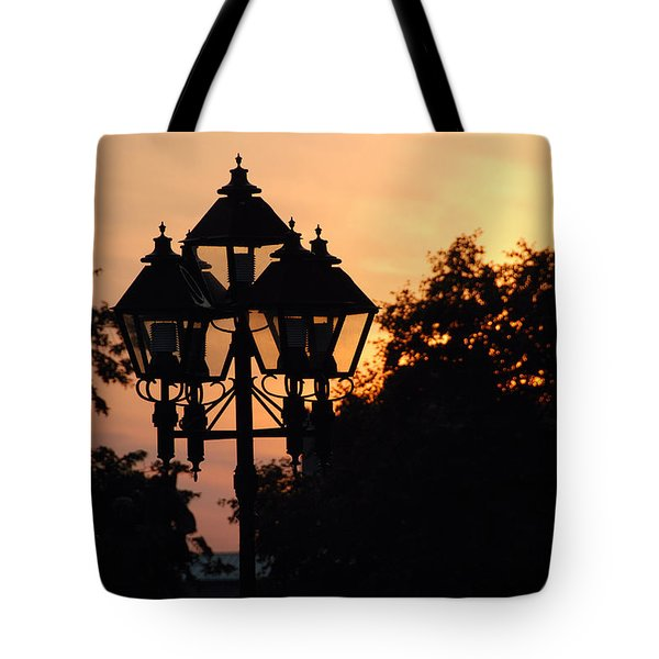 Sunset Place Vouquelin Tote Bag by John Schneider