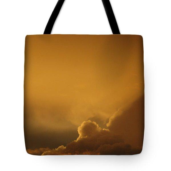 Sunset Skies Tote Bag by Anahi DeCanio