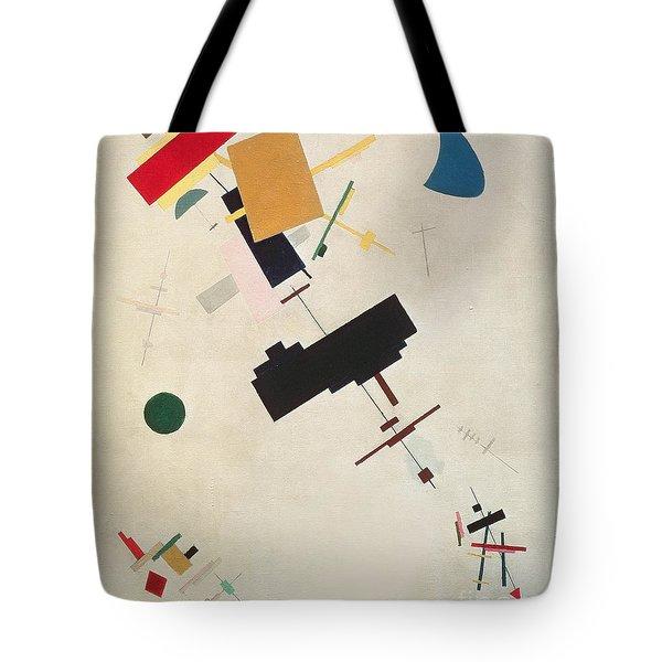 Suprematist Composition No 56 Tote Bag by Kazimir Severinovich Malevich