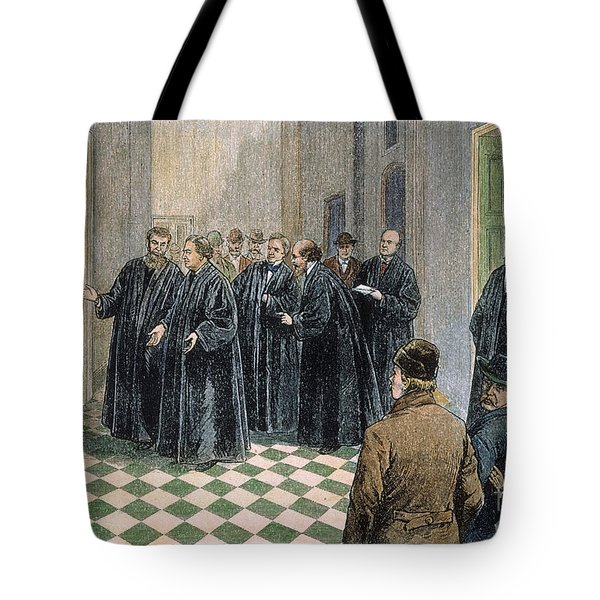 Supreme Court, 1881 Tote Bag by Granger