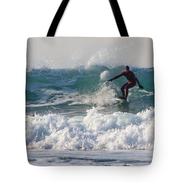 Surfers Paridise Tote Bag by Brian Roscorla