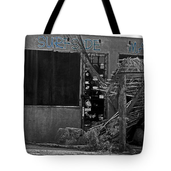 Surfside Market Tote Bag by Cheryl Young