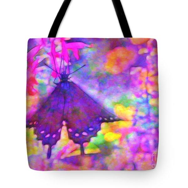 Swallowtail Tote Bag by Judi Bagwell