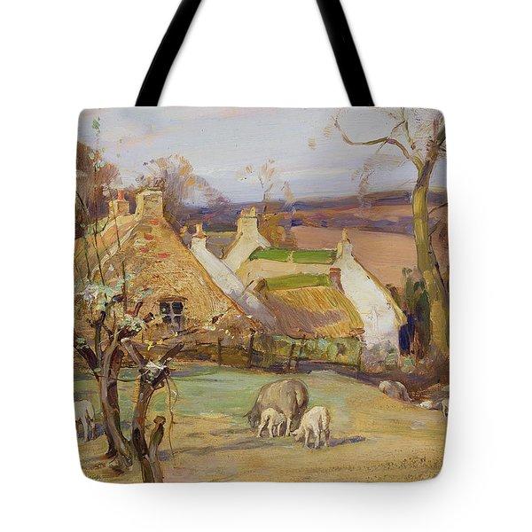Swanston Farm Tote Bag by Robert Hope