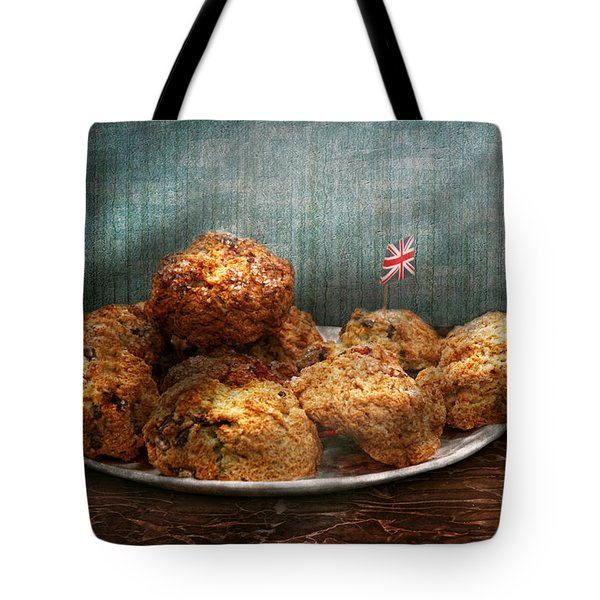 Sweet - Scone - Scones anyone Tote Bag by Mike Savad