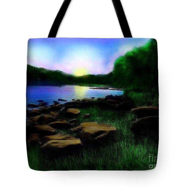 Sweet Dreams Tote Bag by Lj Lambert