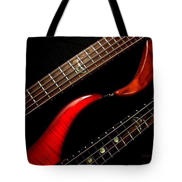 Sweet Refrain Tote Bag by Donna Blackhall