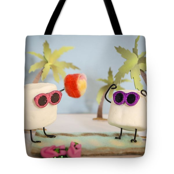 Sweet Vacation Tote Bag by Heather Applegate