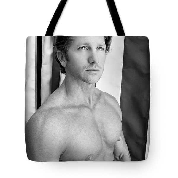 Swimmer 1 Tote Bag by William Dey