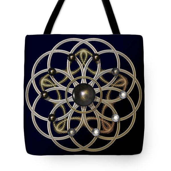 Swirly Brooch Tote Bag by Hakon Soreide