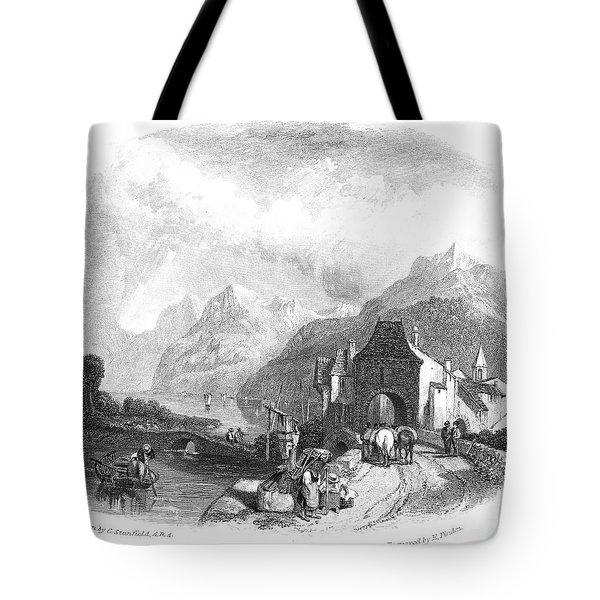 Switzerland: Villeneuve Tote Bag by Granger