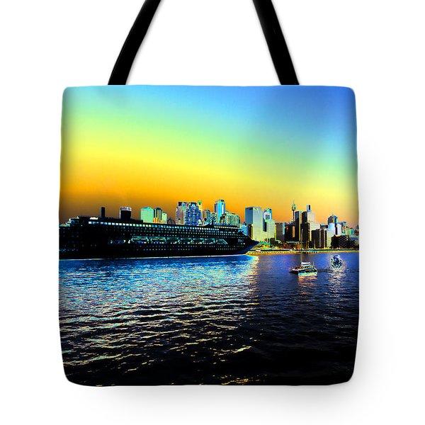 Sydney In Color Tote Bag by Douglas Barnard