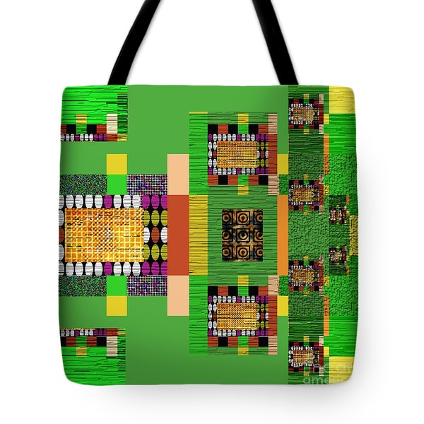 Symmetrica 147 Tote Bag by Nedunseralathan R