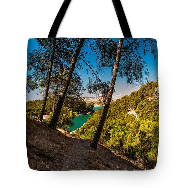 Symphony Of Nature. El Chorro. Spain Tote Bag by Jenny Rainbow