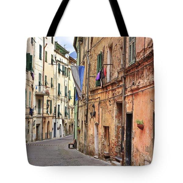 Taggia in Liguria Tote Bag by Joana Kruse
