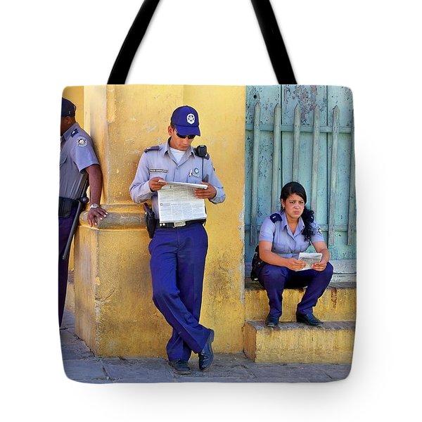 Taking A Break Tote Bag by Lynn Bolt