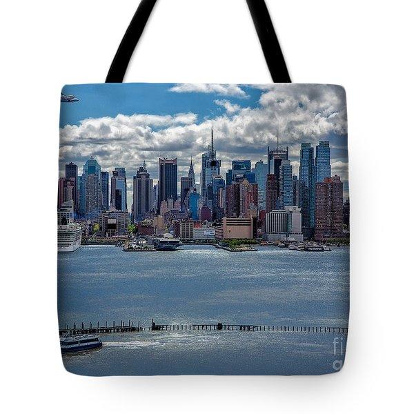 Taking a Free Ride Tote Bag by Susan Candelario