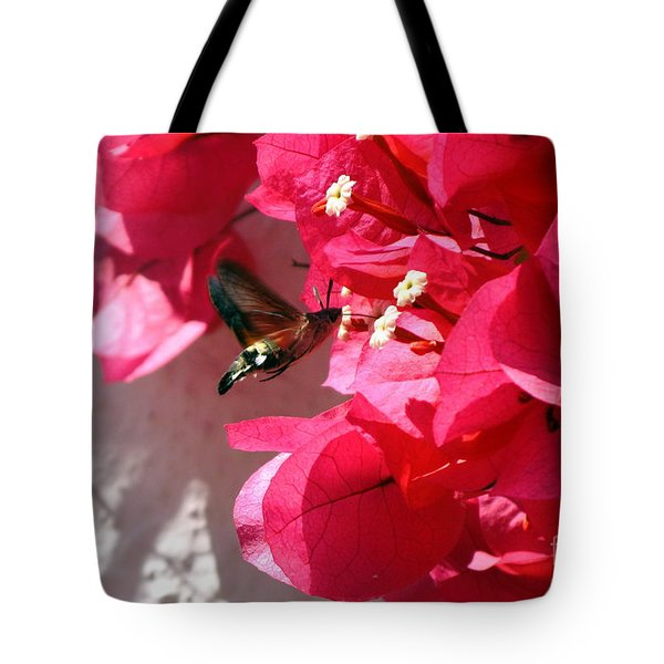 Taking The Nectar Tote Bag by John Chatterley