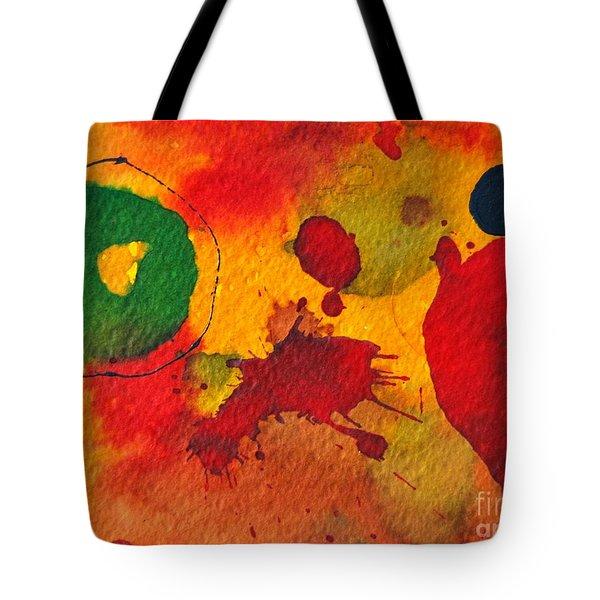 Talking To Myself Tote Bag by Ana Maria Edulescu