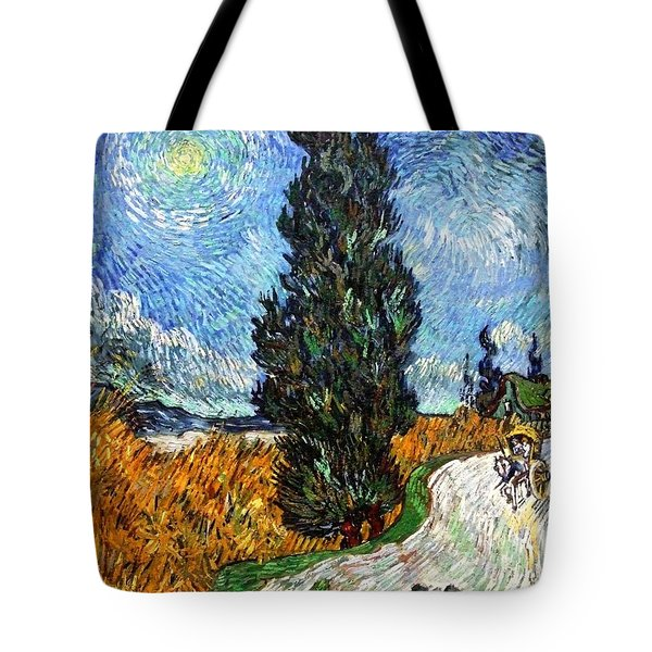 Tall Trees In The Night Tote Bag by Sumit Mehndiratta