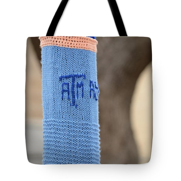 Tamu Astronomy Crocheted Lamppost Tote Bag by Nikki Marie Smith