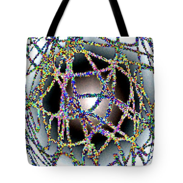Tangled Web Tote Bag by Will Borden