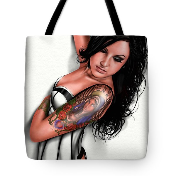 Tasha Tote Bag by Pete Tapang