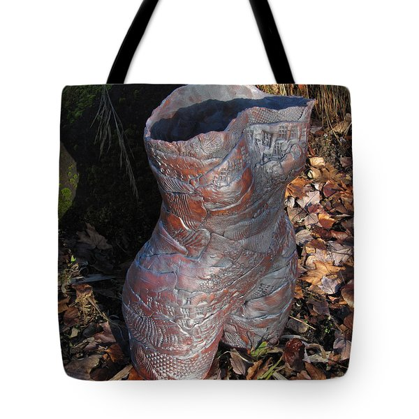 Tattoed Lady Tote Bag by Marilyn Woods